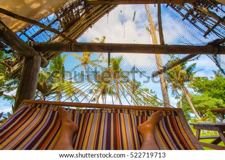How to spend your vacation enjoying a hammock