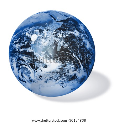 HQ illustration world globe