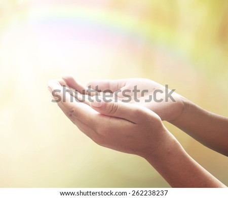 Human open two empty hands with palms up. Ask Pose Seek Beg Help Race God Well Soul Pray Dua Hajj Give Bless Quran Aura Heal Life Gift Eid Poor Idea Islam Thank Room Candle Glow Prayer CSR Healthy.