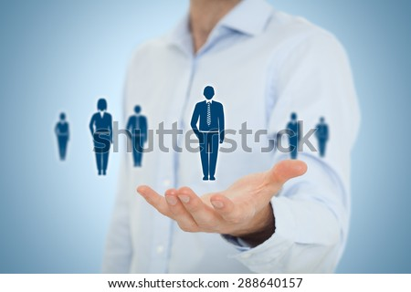 Concept About Business Leaders Teamwork Stock Photo ...