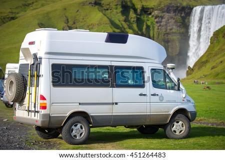Shuttle bus stock photo 4107001 shutterstock for Mercedes benz camper van rental