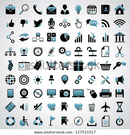 Icons set. Vector version also available in gallery.