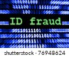 ID fraud - stock photo