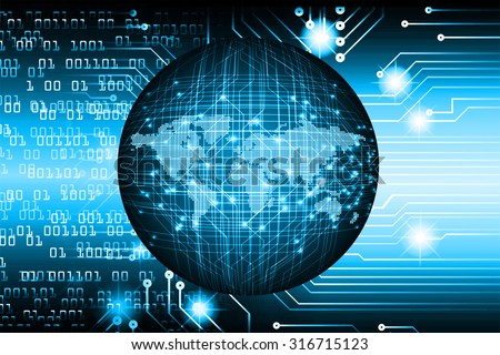 identifying a computer virus.Antivirus protection computer security concept.PC.one zero.scan.technology digital website internet web. World Map,Global.binary digit. blue