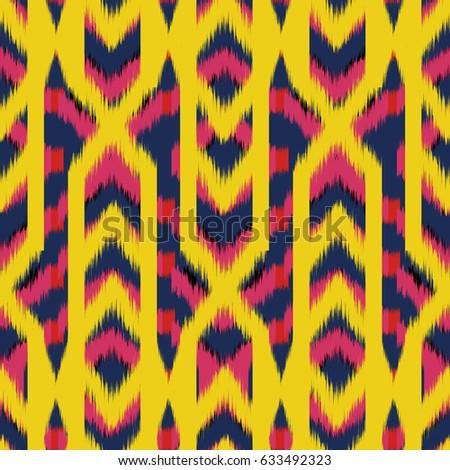 Tribal Ethnic Seamless Pattern Vector Illustration Stock