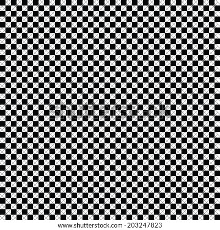 Illustrated Seamless Texture - Chequer