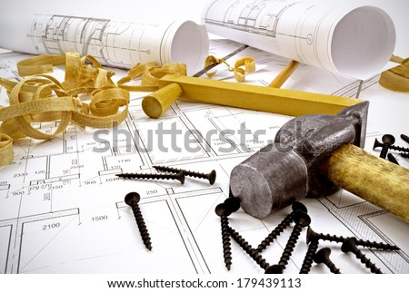 Image design drawings and tools for construction/Engineering drawings and building tools