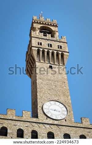 Image of Palazzo Vecchio in Florence, Italy