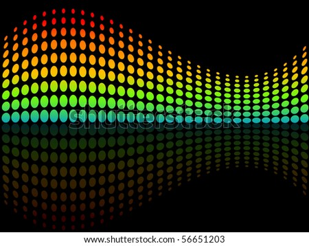 image of vector abstract dots background