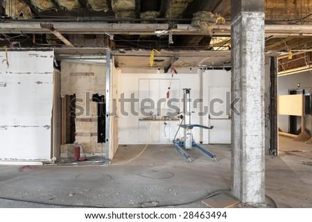 Industrial Style Corridor Hallway One Point Stock Photo 4621132 Shutterstock