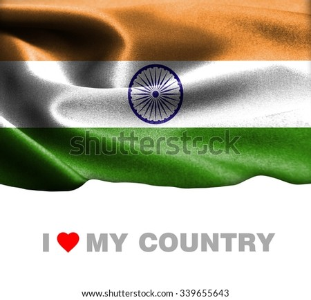 The background intimation on the country of india