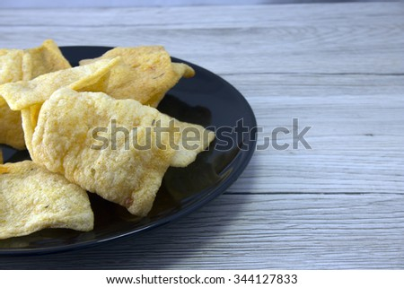 indonesian prawn crackers
