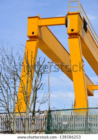 Industrial Steel Crane Structure,