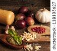 ingredients - stock photo