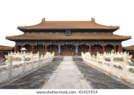 Inner court of Forbidden City, Beijing