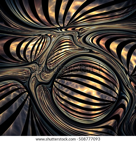 Unusual Expressive Abstract Background Geometric Patterns