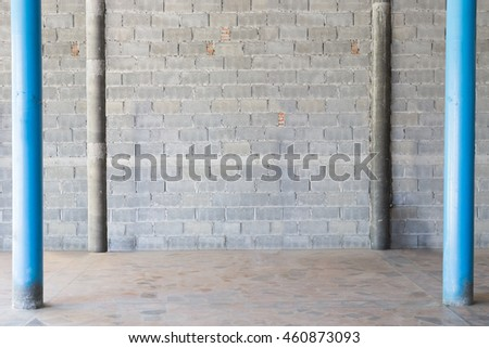 Interior Wood Floor White Brick Wall Stock Photo 388407331 Shutterstock