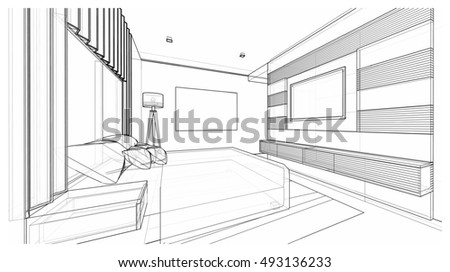 Modern Furniture Sketches modern furniture perspective drawings of buildings best 25+
