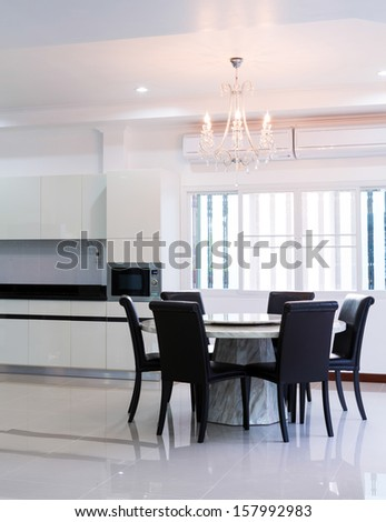 Dining Table Chairs Stock Photo 127837442 Shutterstock