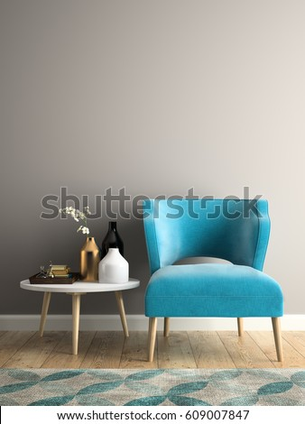neutral livingroom interior fabric sofa pillows stock illustration