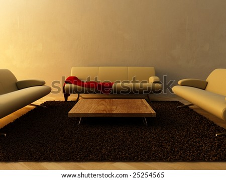 Interior - Modern furnishing for sitting room