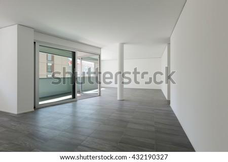 3d render empty room laminate flooring stock illustration 430188829 shutterstock. Black Bedroom Furniture Sets. Home Design Ideas