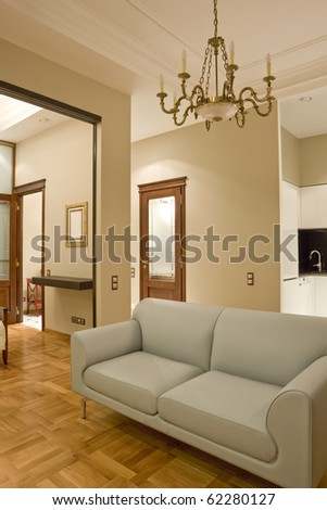 interior of living room