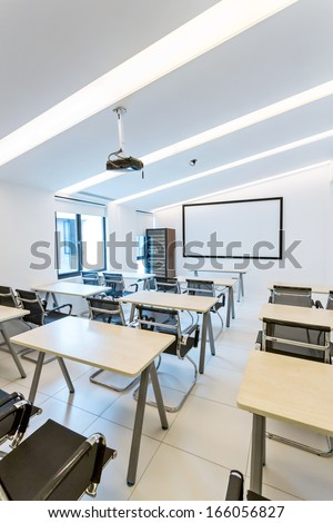 interior of training room