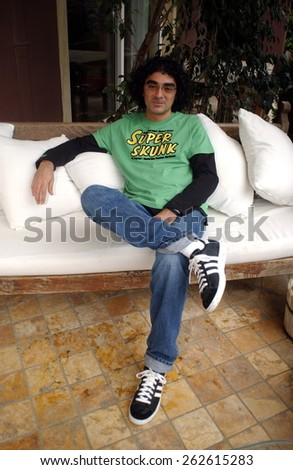 ISTANBUL, TURKEY - MAY 5:  Famous Turkish musician Aykut Gurel Portrait  on May 5, 2005 in Istanbul, Turkey.