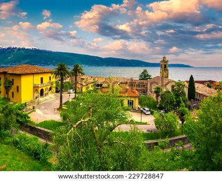 San juan puerto rico caribbean coast stock photo 541354300 for Lake house in italian