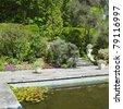 Itallian Garden, Garinish Island (Ilnacullin), County Cork, Ireland - stock photo