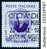 ITALY - CIRCA 1938: a stamp printed in the Italy shows Guglielmo Marconi, Electrical Engineer, Inventor of Wireless Telegraphy, circa 1938 - stock photo