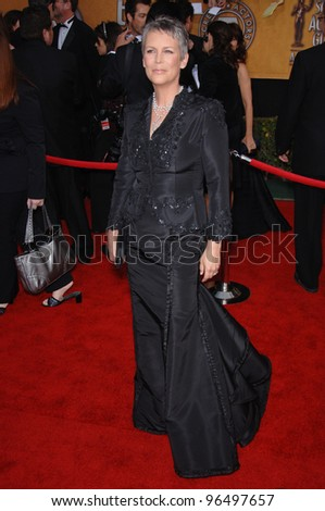 JAMIE LEE CURTIS at the 12th Annual Screen Actors Guild Awards at the Shrine Auditorium, Los Angeles. January 29, 2006  Los Angeles, CA.  2006 Paul Smith / Featureflash
