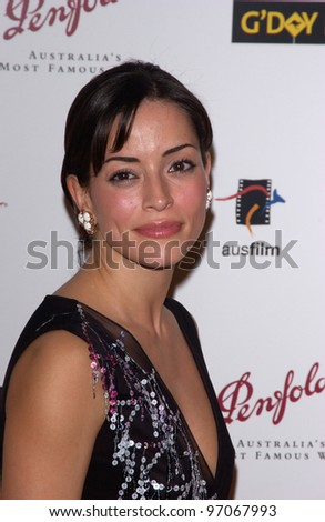 Jan 15, 2005; Los Angeles, CA:  EMMANUELLE VAUGIER at the G'Day LA Penfolds Gala honoring Australian talent.
