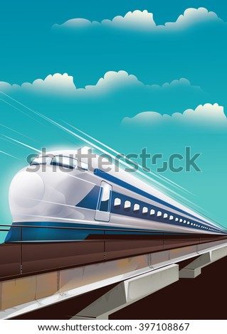 japan bullet train, this is a japanese locomotive on its tracks during the day.