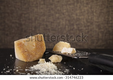 Japanese tofu, a man prepare to eat Japanese cold tofu on dining table with chopstick