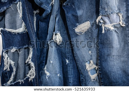 jeans torn texture for the design textures and background jeans denim fashion fabrics