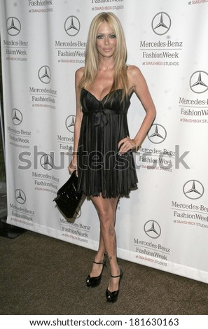 Jenna Jameson at DAY 2 - ARRIVALS at Mercedes-Benz LA Fashion Week, Smashbox Studios, Los Angeles, CA, October 15, 2007