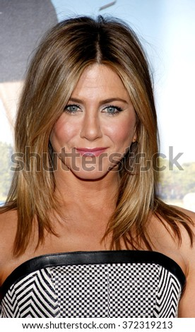 "Jennifer Aniston at the Los Angeles Premiere of ""Wanderlust"" held at the Mann Village Theater, California, United States on February 16, 2012."