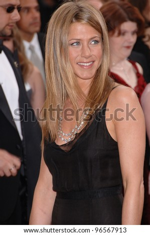 JENNIFER ANISTON at the 78th Annual Academy Awards at the Kodak Theatre in Hollywood. March 5, 2006  Los Angeles, CA  2006 Paul Smith / Featureflash