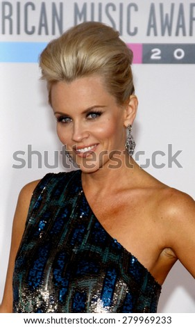 Jenny McCarthy at the 2010 American Music Awards held at the Nokia Theatre L.A. Live in Los Angeles on November 21, 2010.