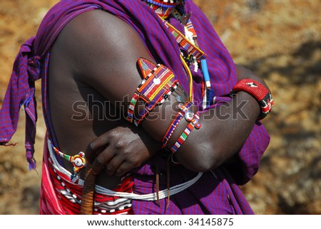 jewels of the Masai tribe