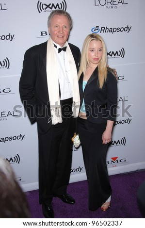 JON VOIGHT & SKYLER SHAYE at music mogul Clive Davis' annual pre-Grammy party at the Beverly Hilton Hotel. February 7, 2006  Beverly Hills, CA  2006 Paul Smith / Featureflash