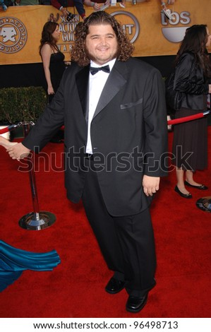 JORGE GARCIA at the 12th Annual Screen Actors Guild Awards at the Shrine Auditorium, Los Angeles. January 29, 2006  Los Angeles, CA.  2006 Paul Smith / Featureflash