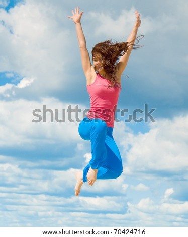 Jumping in Euphoria