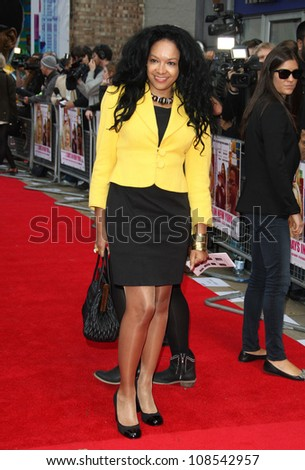 Kanya King arriving for the UK premiere of '2 Days in New York' held at Odeon Kensington, London. 12/05/2012 Picture by: Henry Harris / Featureflash