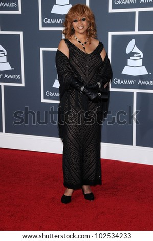 Karen Clark Sheard  at the 52nd Annual Grammy Awards - Arrivals, Staples Center, Los Angeles, CA. 01-31-10