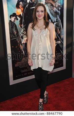 "Kay Panabaker at the Los Angeles premiere of ""Jonah Hex"" at the Cinerama Dome, Hollywood. June 17, 2010  Los Angeles, CA Picture: Paul Smith / Featureflash"