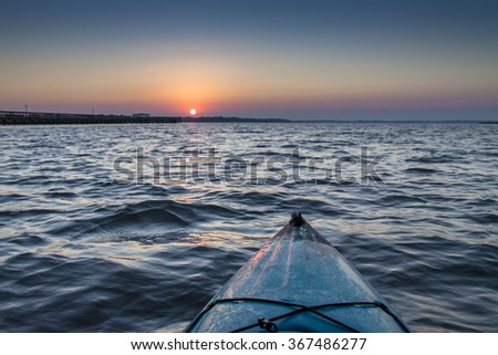 Kayaking at Dawn