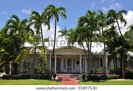 Chuck wagner 39 s key west architecture set on shutterstock for Key west architecture style